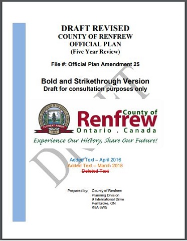 County nears completion of Official Plan Review