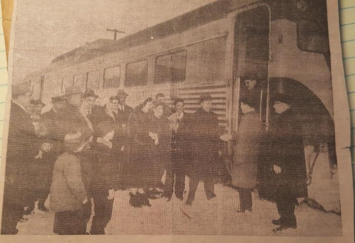 Valley Heritage: CNR Dayliner service 1959