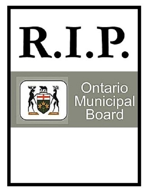 Obituary – the Ontario Municipal Board