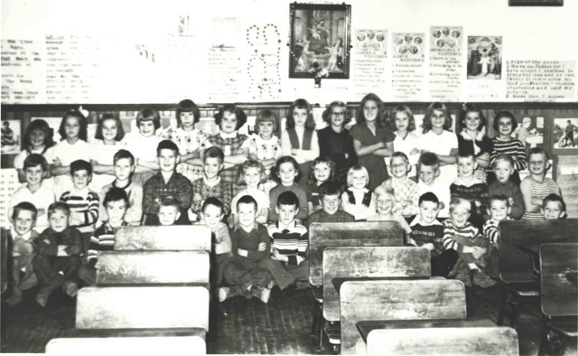 Heritage photo: St. Joseph's School 1952 Grade Two