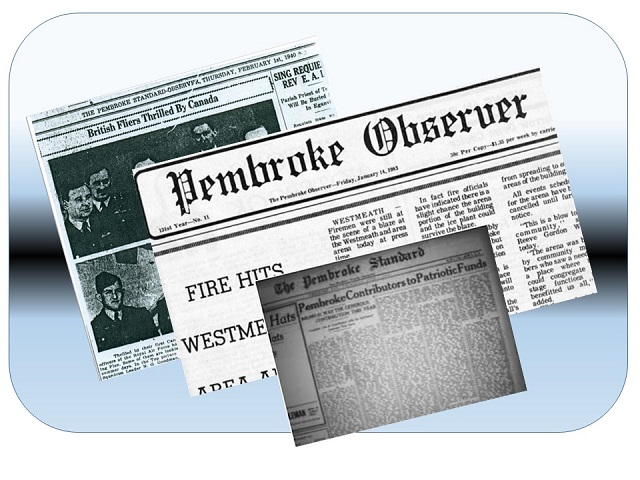 Pembroke Daily Observer axed
