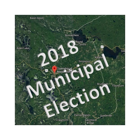 Unofficial election results for Madawaska Valley