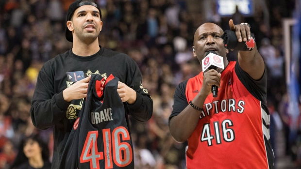 Raptors' ambassador overtakes Beatles and Michael Jackson