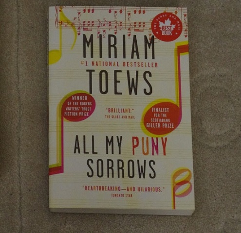 Book review: All my puny sorrows by Miriam Toews