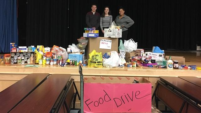 Schools-food-drive