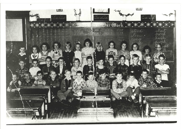 Heritage Photo: St. Joseph's Elementary School Grade Three – Barry's Bay