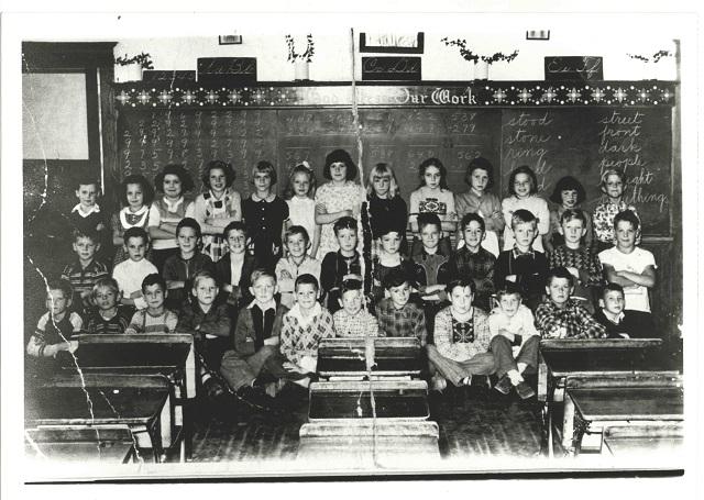 Heritage Photo: St. Joseph's Elementary School Grade Three – Barry's Bay