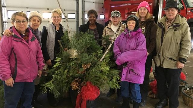 Communities in Bloom winter baskets
