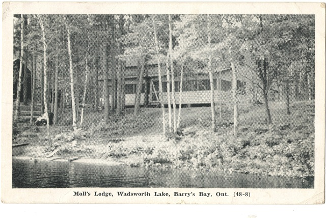 Heritage Photo: Moll's Lodge