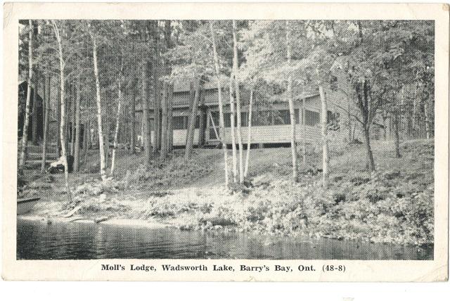 Heritage Photo: Moll's Lodge
