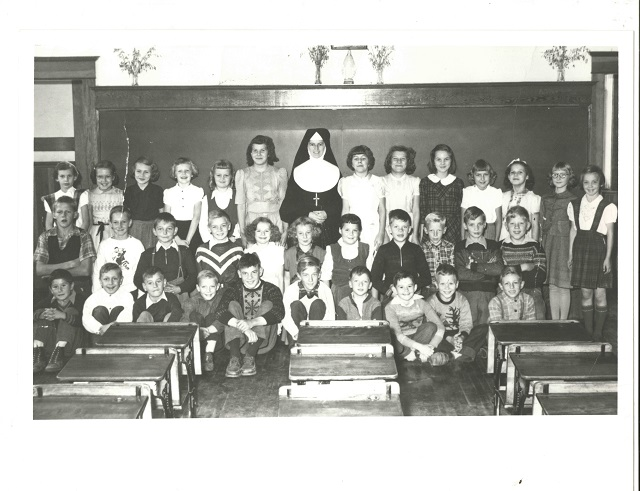 Heritage Photo: St. Joseph's School 1952-53 Grade Four