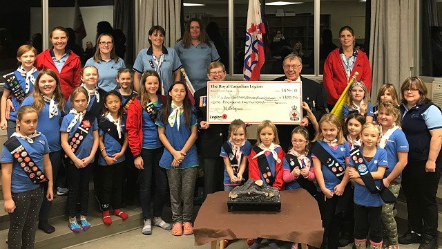 1st Barry's Bay Girl Guides engage with community