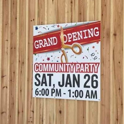 Wilno Rink opens with community party