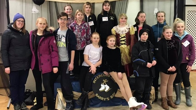 Two hundred skaters and supporters at Interclub in Barry's Bay