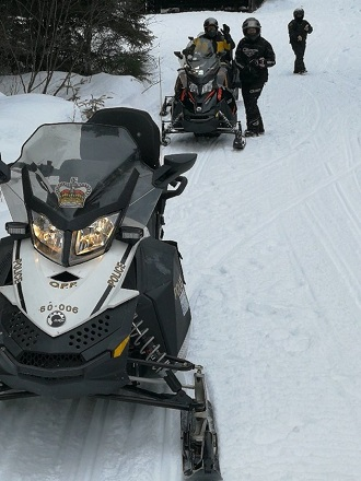 Fatalities lead OPP to warn snowmobilers about the high cost of taking risks