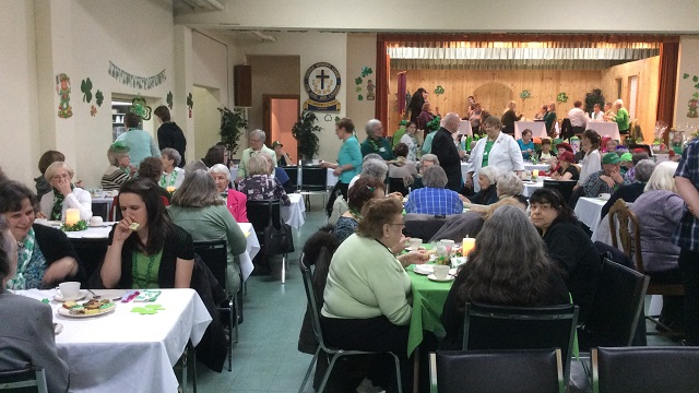 St. Pat's tea at St. Lawrence O'Toole