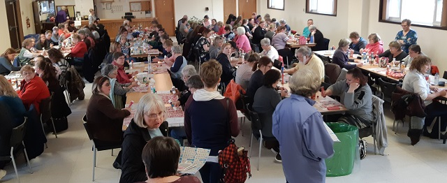 Luck is in the air at Sherwood Public School spring bingo