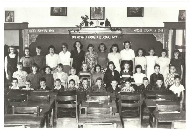 Heritage Photo: 1952-53 St. Joseph's School Grade 6