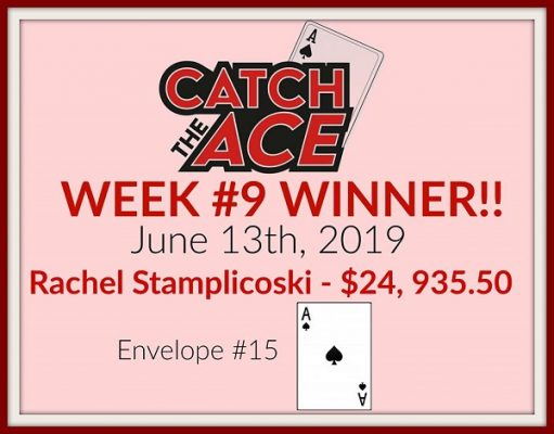 Catch The Ace winner gets $24,935.50