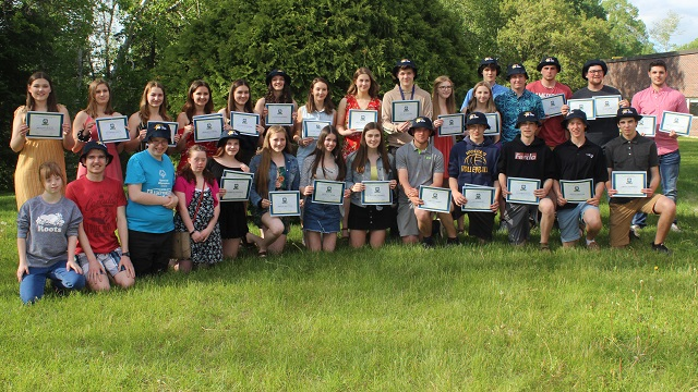 Athletes honoured at Madawaska Valley District High School