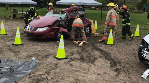 MV students experience being First Responders