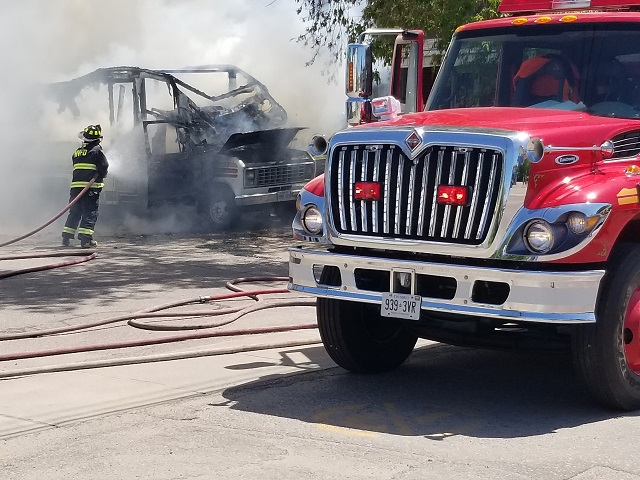 RV fire was quickly doused but MV Fire Chief has advice