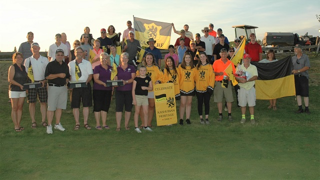 Lady Griffins hold Kashubian Flagstick Golf tournament