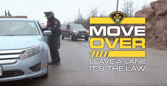 OPP conducts Move Over campaign August 2 to 5