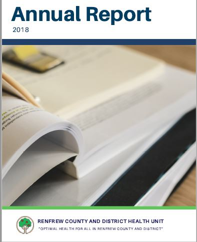 Renfrew County District Health Unit releases 2018 annual report