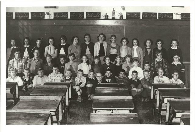 Grade 7-8 St. Josephs Elementary School 1952-53