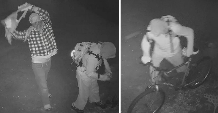 OPP seek your help to identify these Persons of Interest
