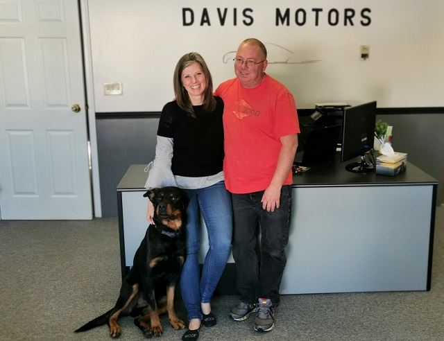 Old-fashioned personal service at Davis Motors