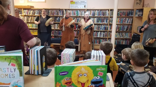 Children enjoy indigenous session at MV Library