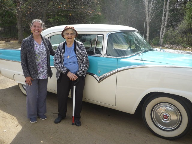 Icing on the cake for 102-year-old Anastasia Whalen of Round Lake Centre