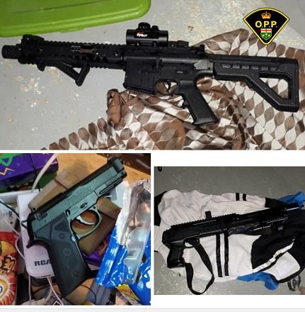 OPP seize illegal drugs and replica firearms in Pembroke
