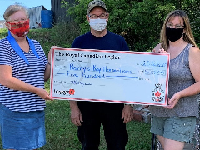 Barry's Bay Horseshoe League holds tournament at Legion