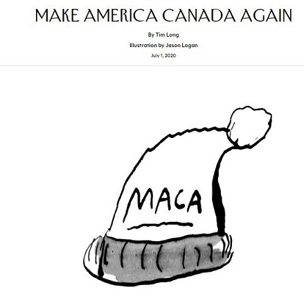 Your Friday Funny – Make America Canada Again