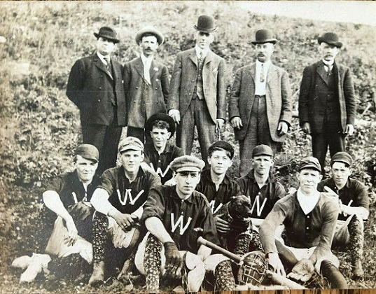 Heritage Photo: 1907 Whitney Champs baseball team