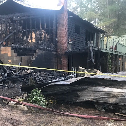 Wadsworth Lake home suffers major fire damage