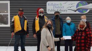 lions-donation-killaloe-public-library-2020