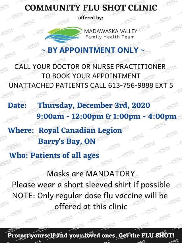 Dec-3-flu-shot-clinic-barrys-bay