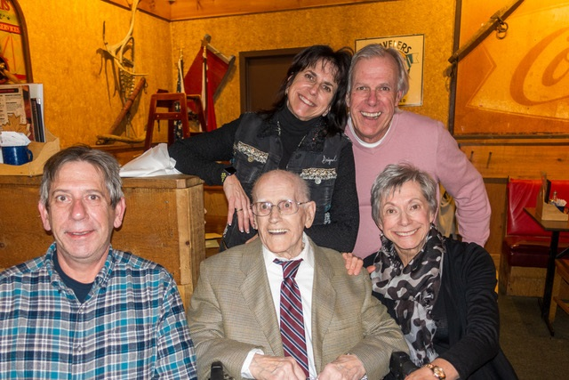 WW2 vet turns 100, gives $25k to local healthcare