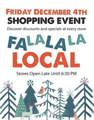Save with shop local event at Barry's Bay retailers
