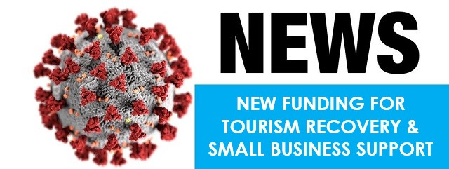 New funding for tourism operators, small businesses