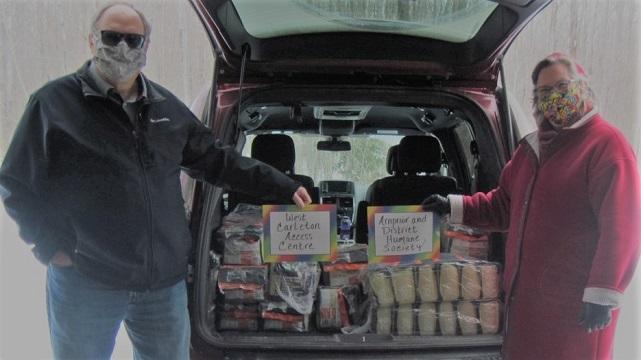 MV Food Bank distributes huge pet food donation