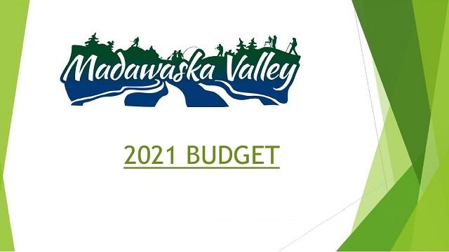 MV 2021 budget presentation