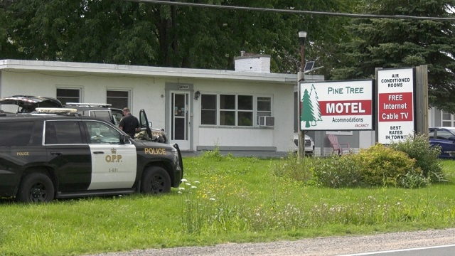 Two arrested following suspicious death at Eganville motel
