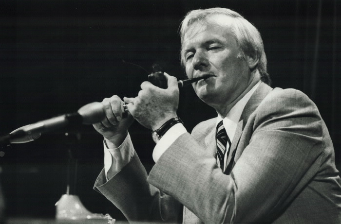 Bill Davis had charisma too