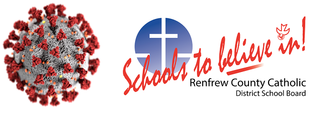 Positive COVID-19 tests of students at two Catholic schools in RCD